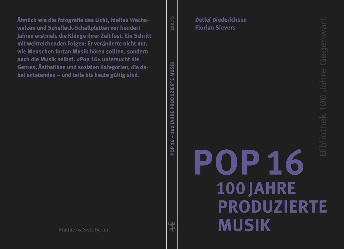 Buch: Pop 16 – 100 produzierte Musik
